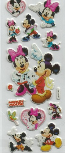 50668 Puffy Sticker Set Disney 1.
