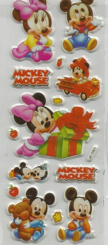 50669 Puffy Sticker Set Disney 2.
