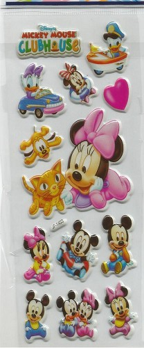 50670 Puffy Sticker Set Disney 3.