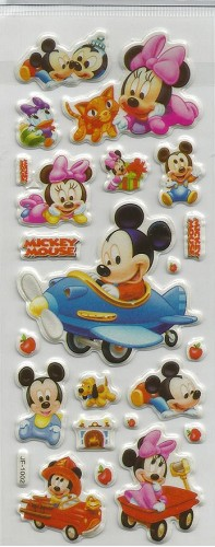 50671 Puffy Sticker Set Disney 4.