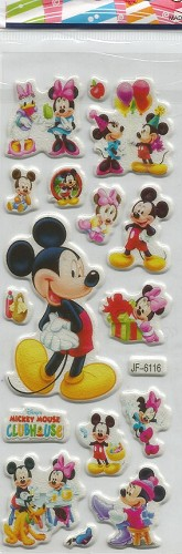 50673 Puffy Sticker Set Disney 6.