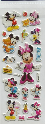 50674 Puffy Sticker Set Disney 7.