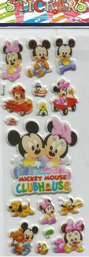 50676 Puffy Sticker Set Disney 9.