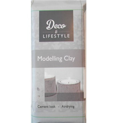 50761 Creall Modeling Clay Cement Look 500 Gram.