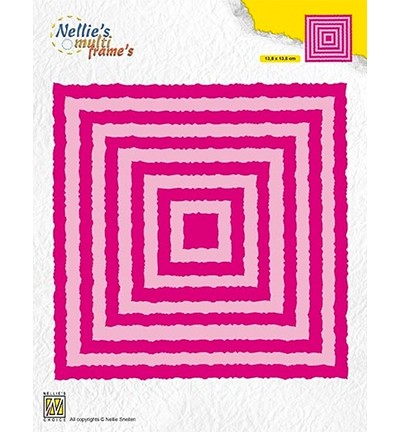 50811 Nellies Choice Multi Frame Photo Frames Squares (MFD124).