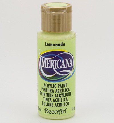 50896 Deco Art Americana Acrylics 59 ML Lemonade (DA252).