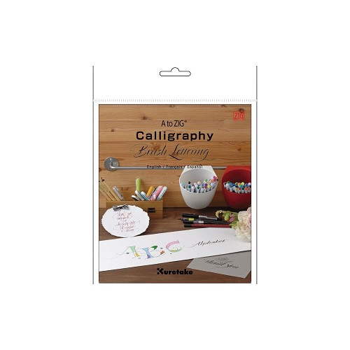 51055 A to ZIG Calligraphy Brush Lettering Book.
