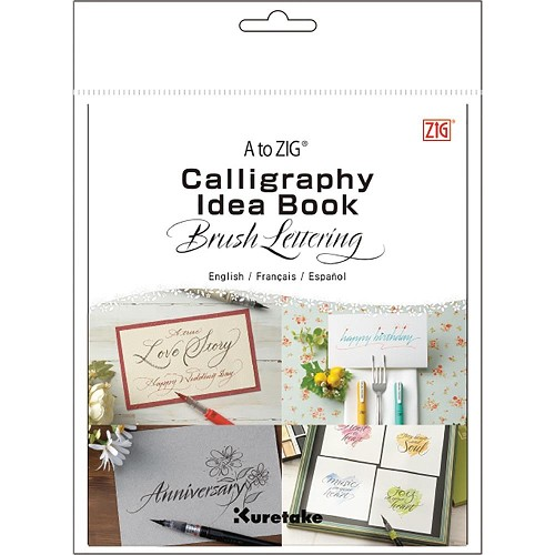 51056 A to ZIG Calligraphy Idea Book-Brush Lettering.