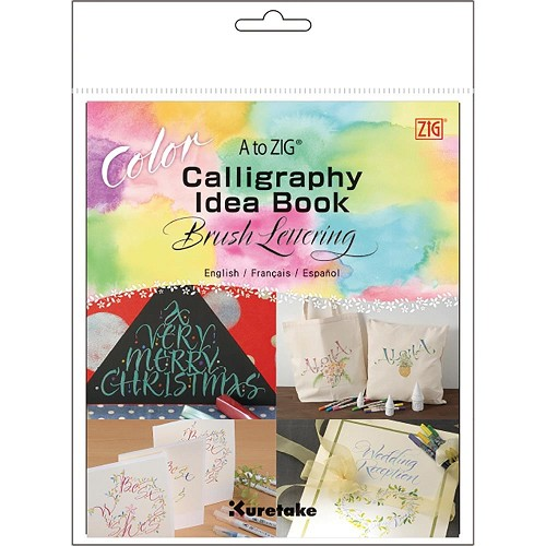 51057 A to ZIG Calligraphy Idea Book-Color Brush Lettering.