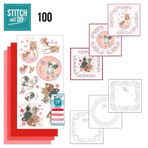 51083 Stitch and Do 100 Playful Pets.