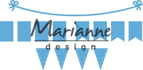 51285 Marianne Design Creatable Bunting Banners (LR0581).