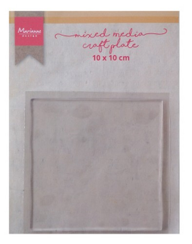 51292 Marianne Design Tools MM Craft Plate Vierkant 10 cm (LR0017).