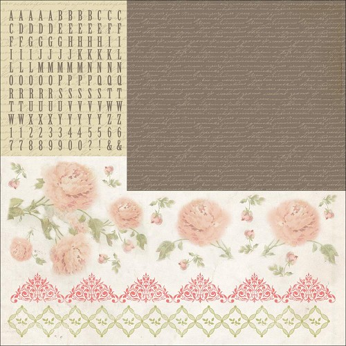 "51340 Kaisercraft Charlotte`s Dream Cardstock Stickers 12""X12""."