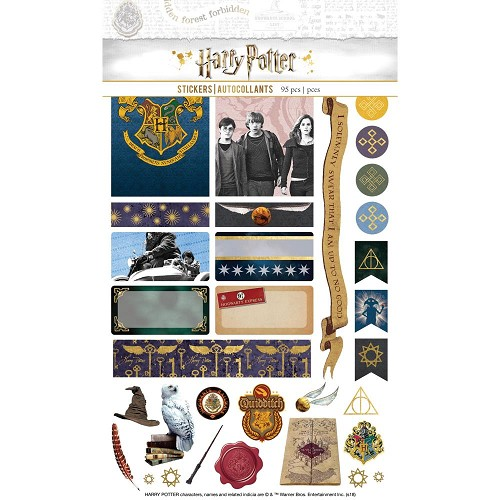 51379 Paper House Life Organized Planner Stickers 4 Sheets Harry Potter.