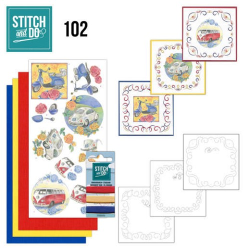 51392 Stitch and Do 102 Oldtimers.