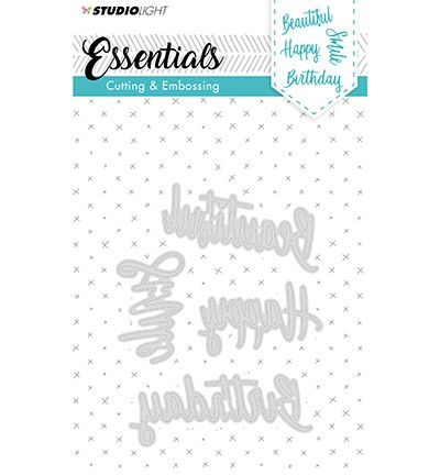 51395 Studio Light Cutting and Embossing Die Essentials nr.163 (STENCILSL163).