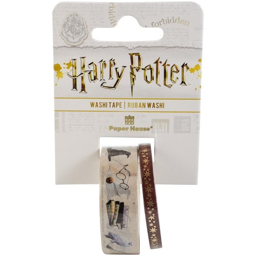 51507 Paper House Washi Tape 2/Pkg Harry Potter - Icons.