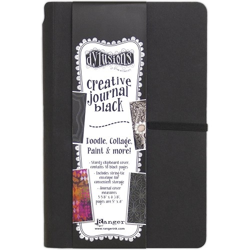 51588 Dyan Reaveley`s Dylusions Black Journal Small (DYJ65630).