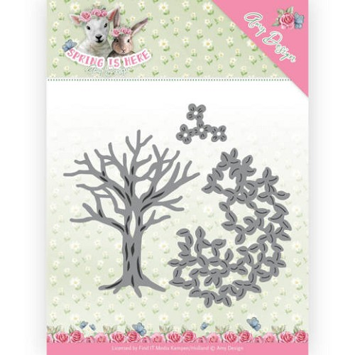51621 Dies - Amy Design - Spring is Here - Spring Tree (ADD10168).