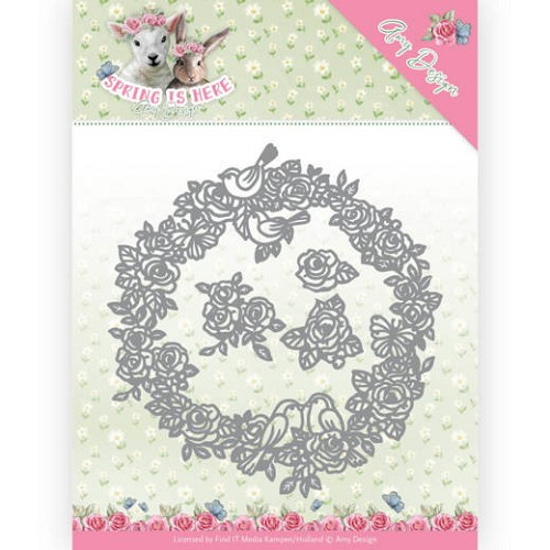 51623 Dies - Amy Design - Spring is Here - Circle of Roses (ADD10166).