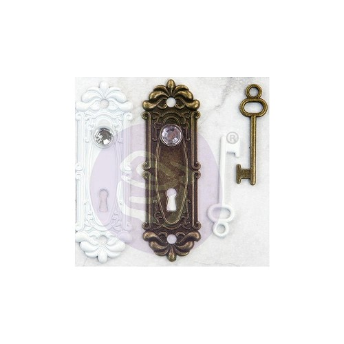 51673 Prima Marketing Memory Hardware Embellishments Antique Metalware Avigno (994372).