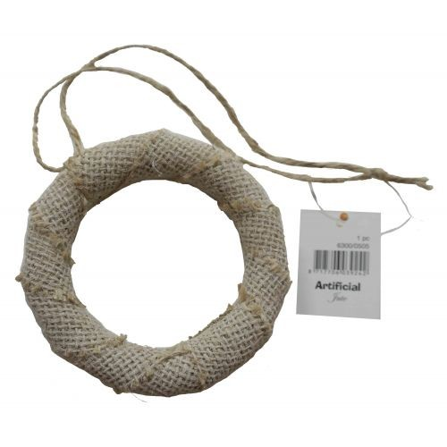 51702 Joy Crafts Jute Krans 1 st - ø 95 mm (6300/0505).