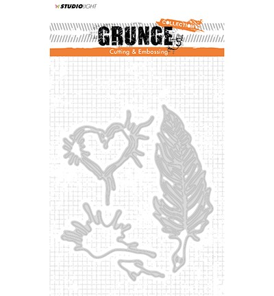 51708 Studio Light Cutting and Embossing Die, Grunge Collection 2.0, nr.177.