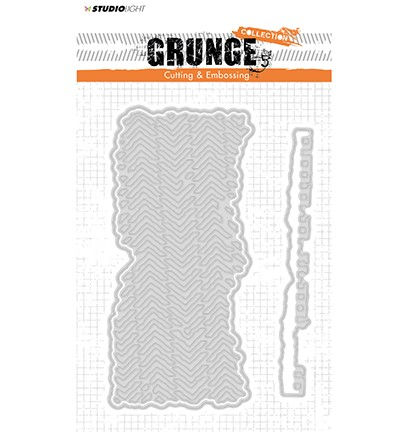 51710 Studio Light Cutting and Embossing Die, Grunge Collection 2.0, nr.174.