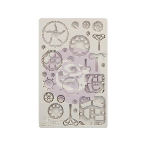 "51770 Prima Finnabair Decor Moulds 5""X8"" Mechanica (966621)."