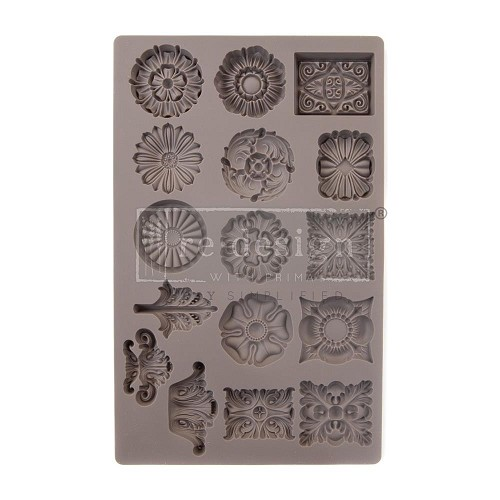 "51773 Prima Redesign Mould 5""X8"" Etruscan Accents (636456)."