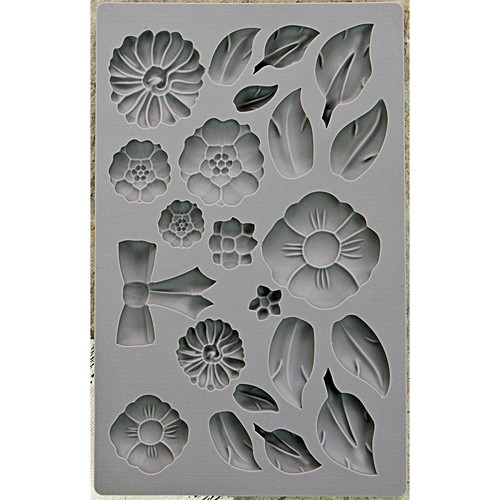 "51778 Prima Iron Orchid Designs Vintage Art Decor Mould 5""X8"" Rustic Fleur (815363)."