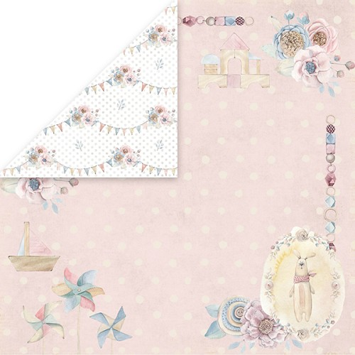 51820 Craft and You Design 12x12 Inch Doubles. Paper Baby World 3.