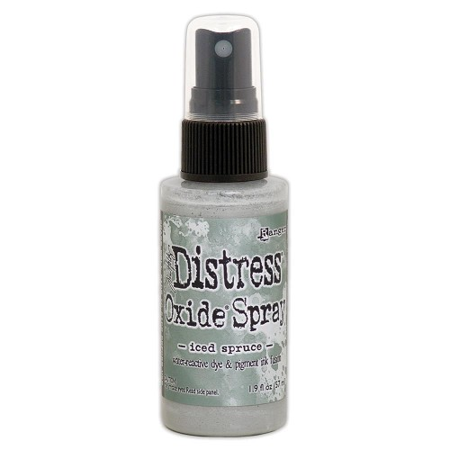 51902 Ranger Tim Holtz Distress Oxide Spray Iced Spruce.