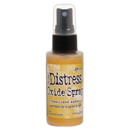 51913 Ranger Tim Holtz Distress Oxide Spray Fossilized Amber.