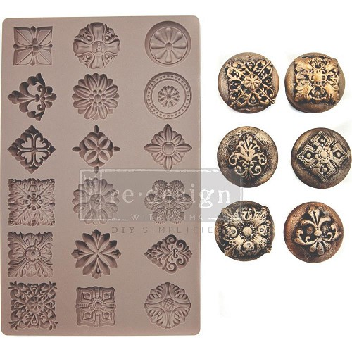 "51944 Prima Marketing Redesign Mould 5""X8""X8mm Curio Trinkets (638856)."