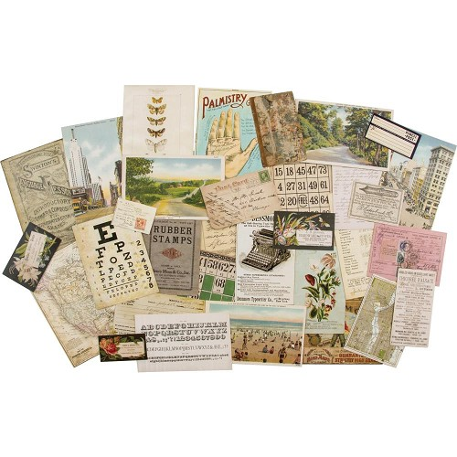 52170 Tim Holtz Idea-Ology Layers Remnants 33/Pkg Paper (TH93799).