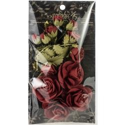52252 Graphic 45 Staples Rose Bouquet Collection 15/Pkg Triumphant Red (4501785).