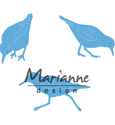 52327 Marianne Design  - Creatable Tiny's Sand Pipers (LR0596).