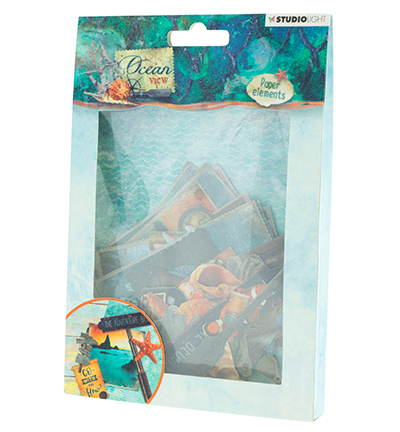 52426  - Die Cut Paper Set Ocean View nr.649 (EASYOV649).
