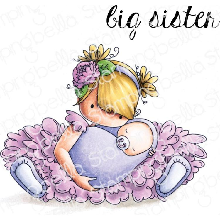 52497 Stamping Bella Cling Stamps Big Sister (EB785).