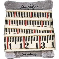 "52596 Tim Holtz Idea-Ology Ruler Ribbon 36"" (TH93955)."