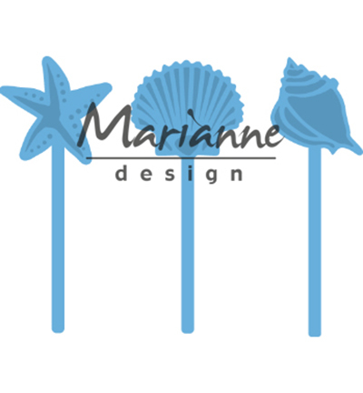 52621 Marianne Design Creatable Sea Shells Pins (LR0602).