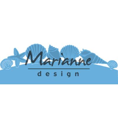 52622 Marianne Design Creatable Sea Shells Border (LR0601).