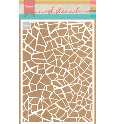 52624 Marianne Design Sjabloon A5 Broken Tiles (PS8036).