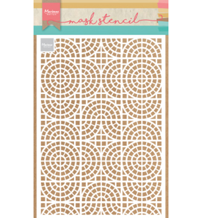 52625 Marianne Design Sjabloon A5 Mosai Tiles (PS8035).