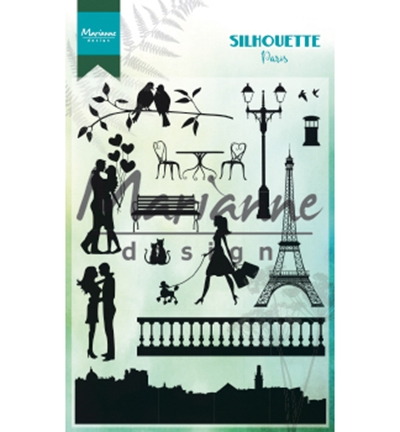 52627 Marianne Design Clearstamps Silhouette Paris (CS1027).