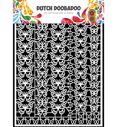 52688 Dutch Doobadoo Dutch Paper Art Butterflies (472.948.051).