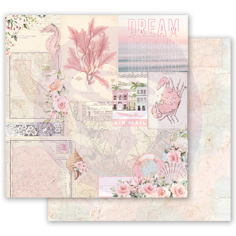 52772 Prima Marketing Golden Coast 12x12 Inch Sheet California Dreaming (995003).