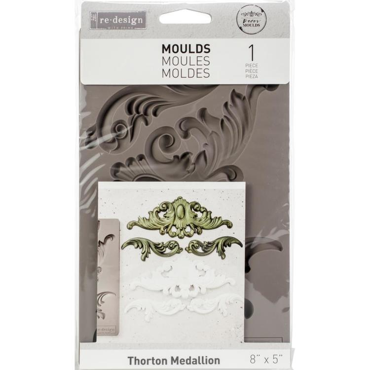 52789 Prima Re-Design Decor Mould Thorton Medallion (632281).