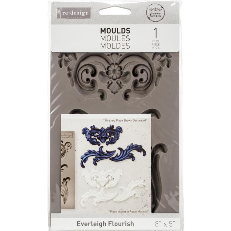 52790 Prima Re-Design Decor Mould Everleigh Flourish (632250).